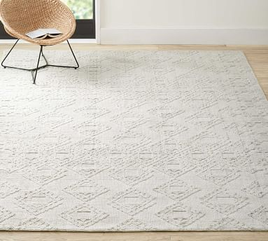 Avery Easy Care Rug, 8 x 10', Ivory