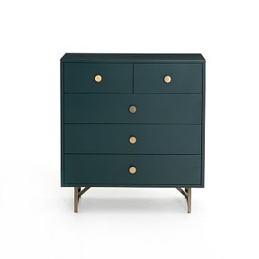 Van 5-Drawer Dresser, Juniper Green