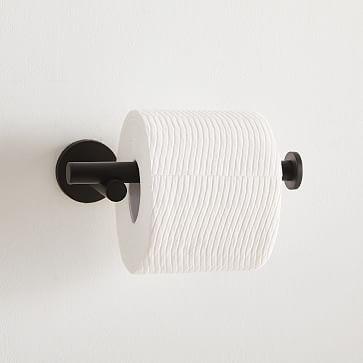 Modern Overhang Bathroom Collection, Towel Bar, Dark Bronze