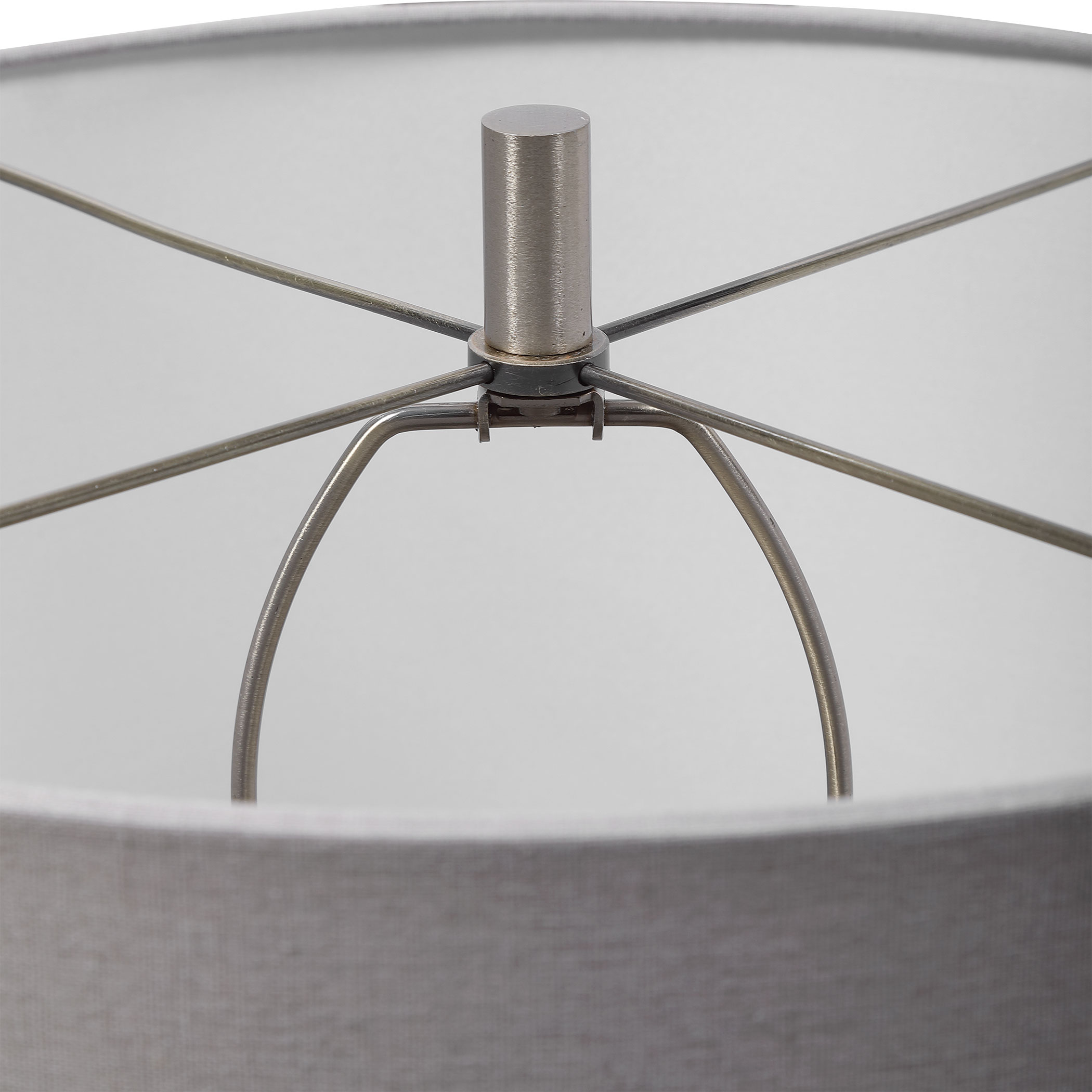 Winterscape White Glaze Table Lamp - AUG 01, 2021