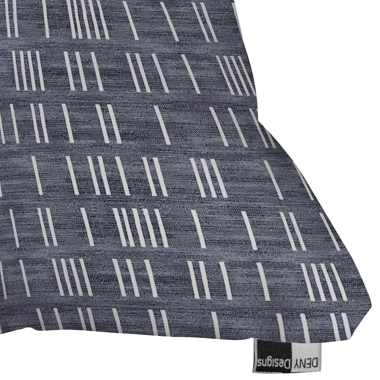 "Bogo Denim Mudcloth Light by Holli Zollinger - Outdoor Throw Pillow 26"" x 26"""