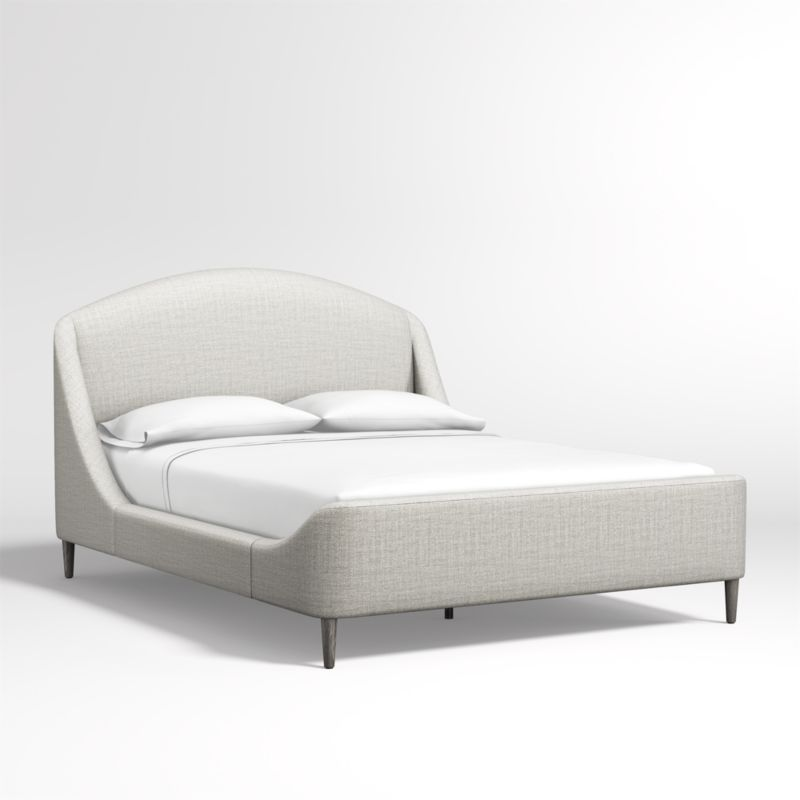 Lafayette Mist Upholstered Queen Bed