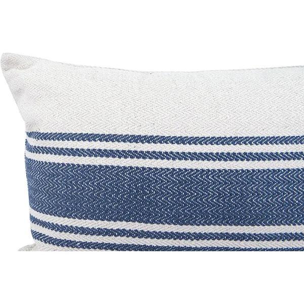 "Magnolia Pillow, 14"" x 20"", Blue"