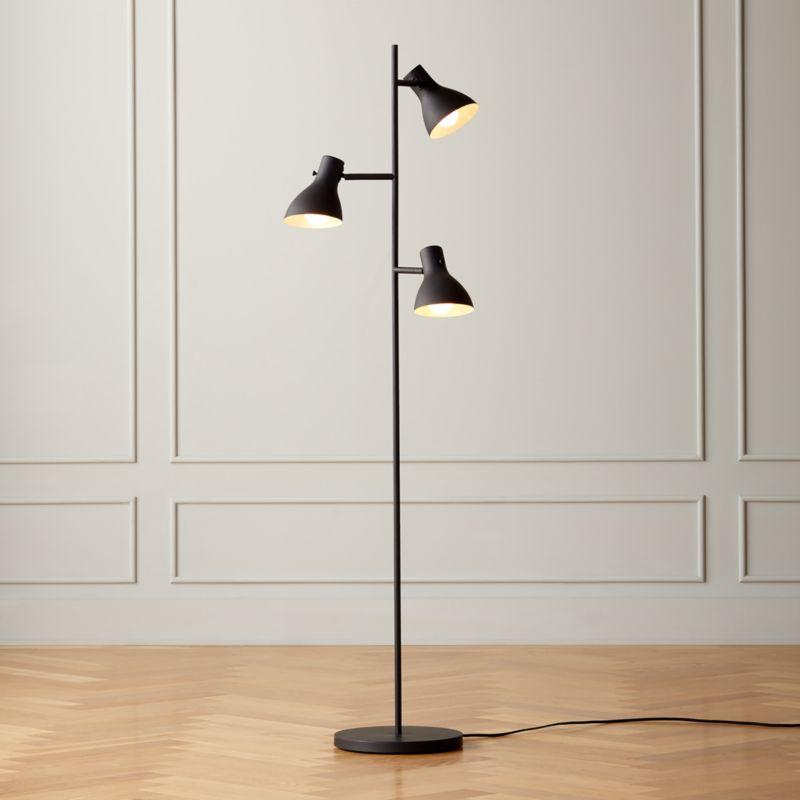 Belini Black Floor Lamp
