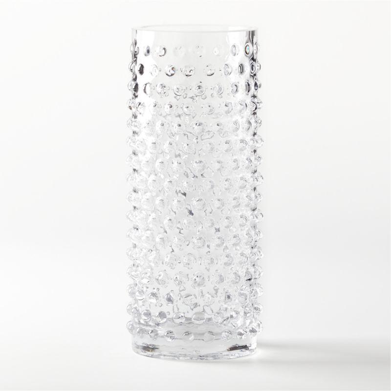 Chiuri Clear Glass Vase