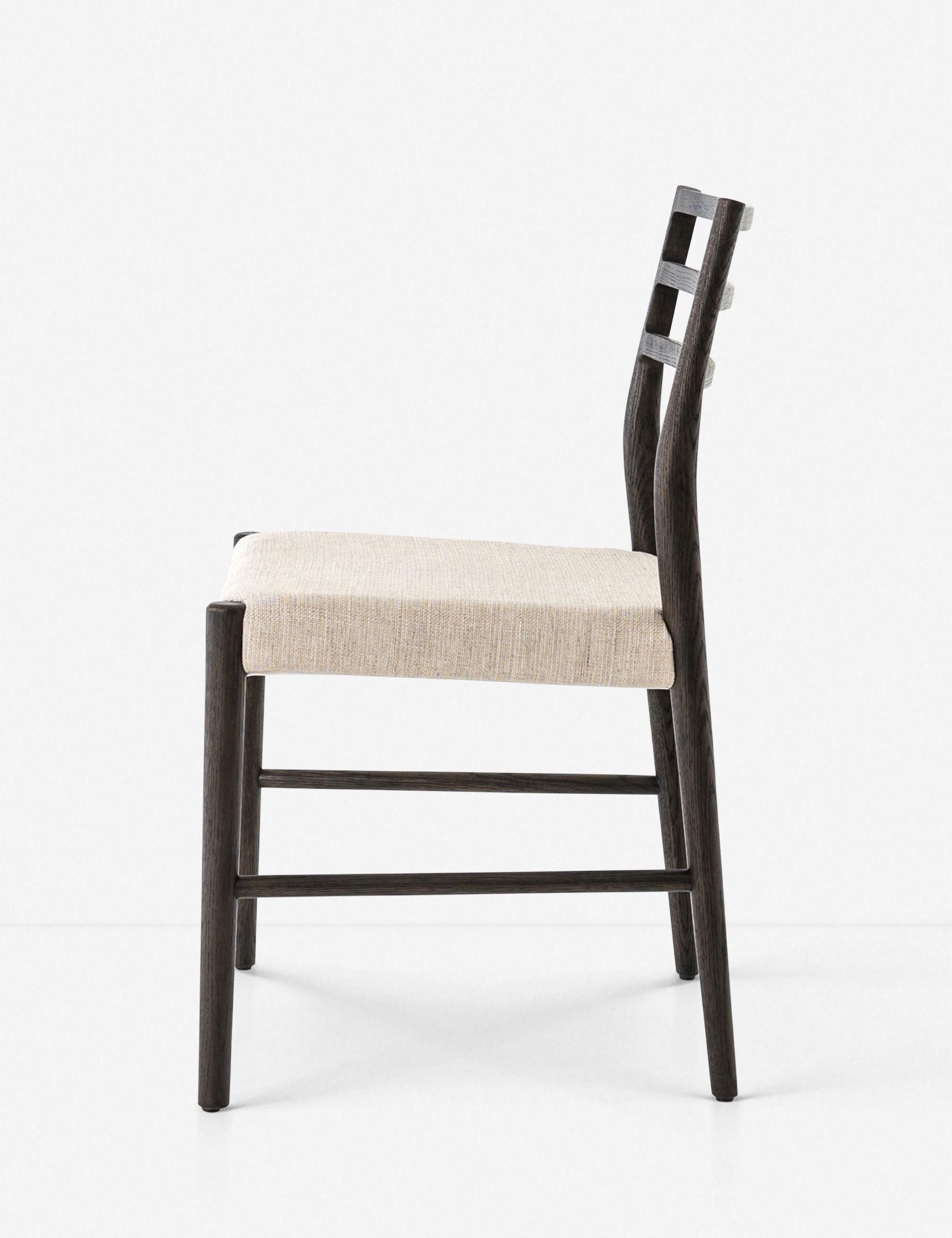 Lauret Dining Chair, Espresso Oak