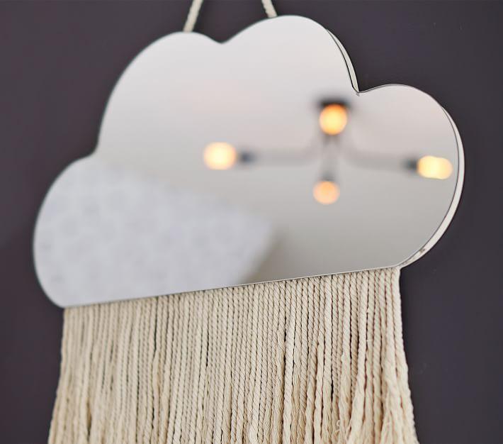 Cloud Fringe Mirror