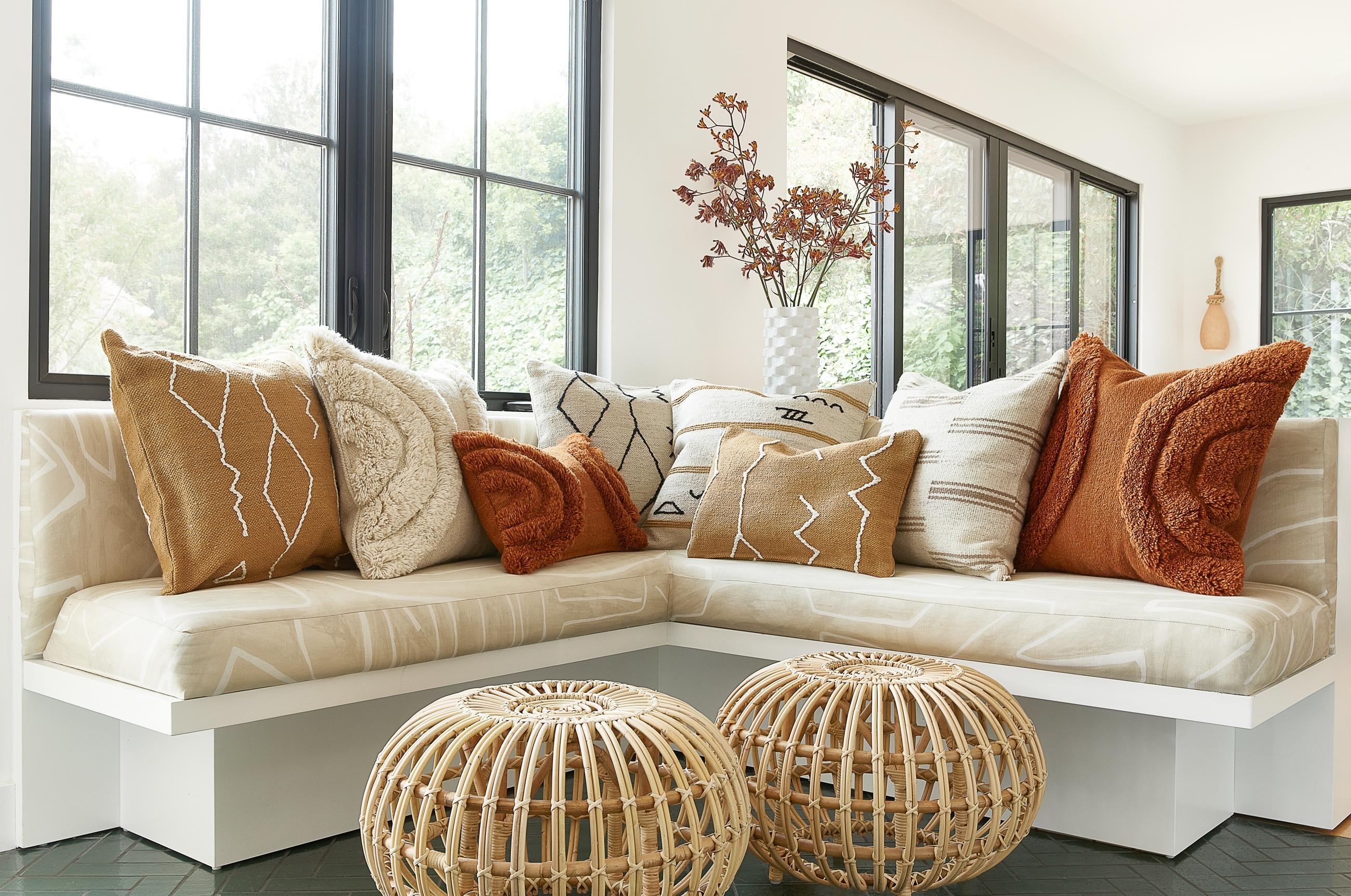 Stripe Break Pillow By Sarah Sherman Samuel