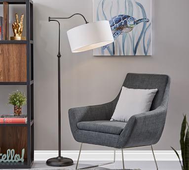 Downing Floor Lamp, Bronze