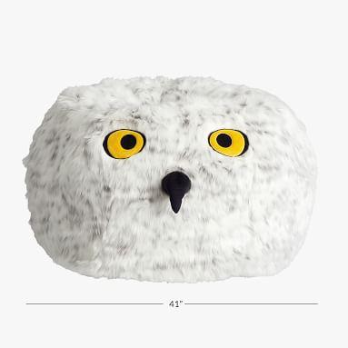 HEDWIG(TM) Owl Bean Bag Chair Set (Slipcover + Insert)