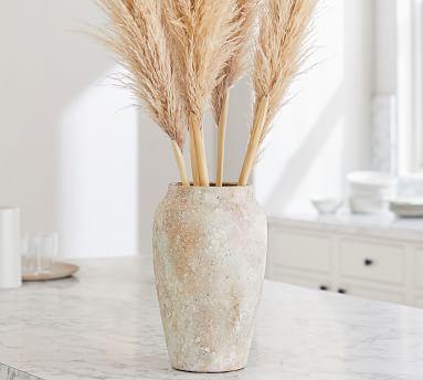 Pb Pampas Grass Branch: S/3: Golden