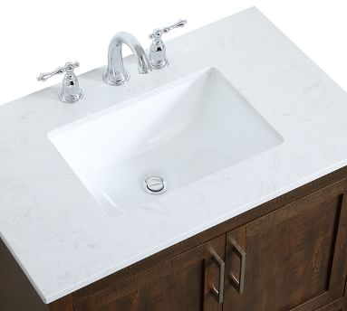 Espresso Belleair Single Sink Vanity, 30""