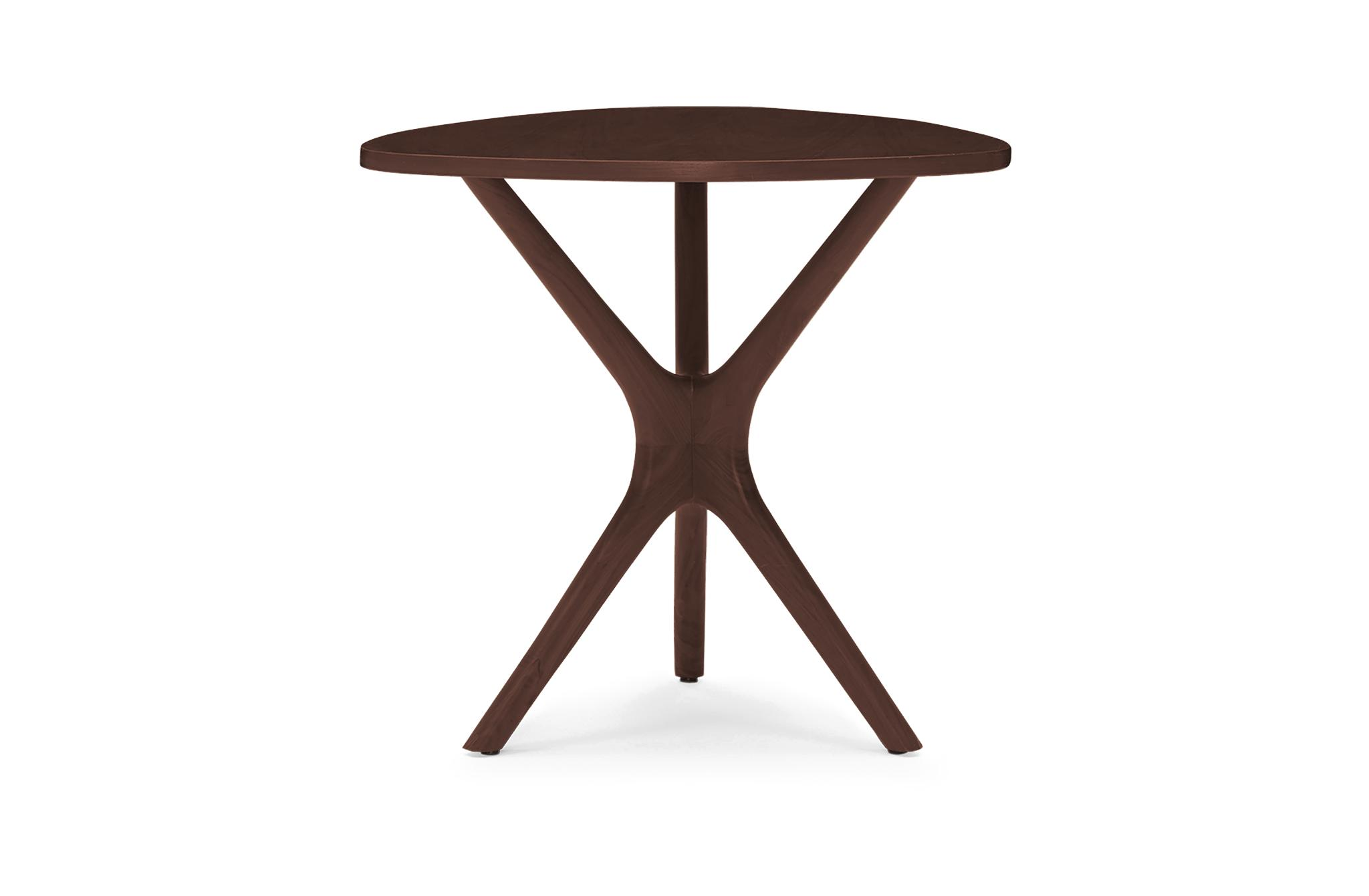 Tolson Mid Century Modern (Wood Top) End Table - Walnut
