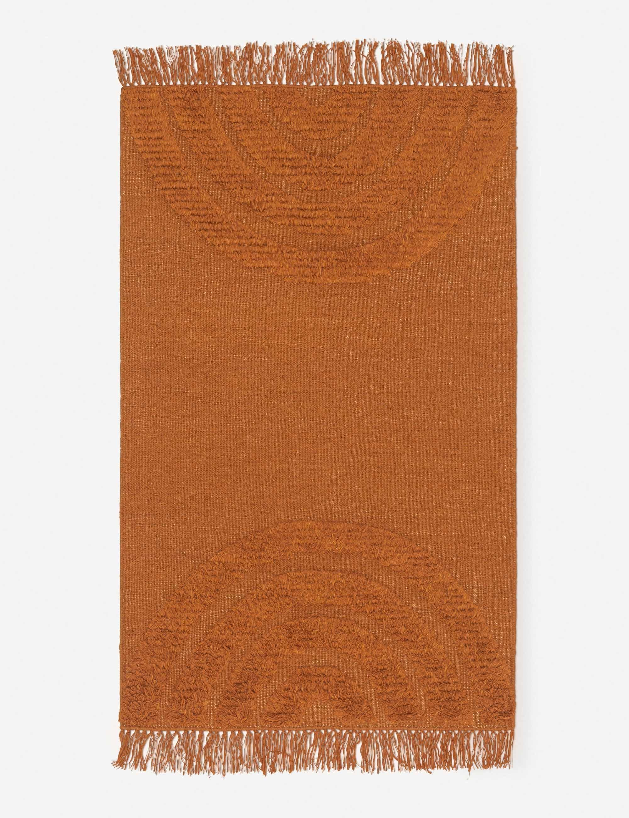 Arches Rug, Rust By Sarah Sherman Samuel 3' x 5'