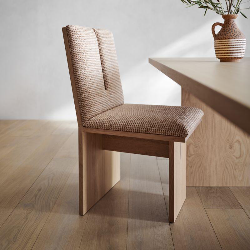 """Paradox 89"""" Natural Oak Dining Table"""