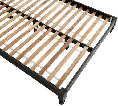 Astoria Storage Headboard & Platform Bed, Rosedale Black, King