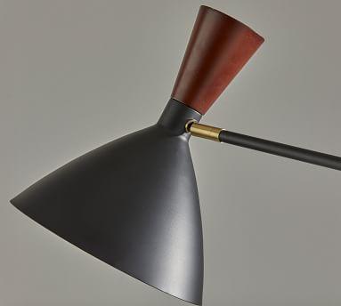 Ravenna Metal Floor Lamp, Black