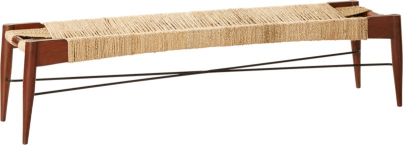 Wrap Large Natural Bench