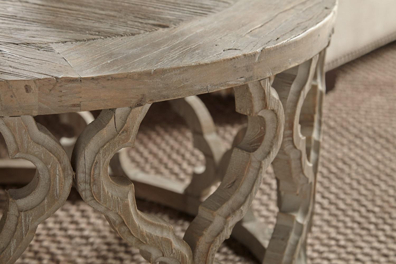 Clover End Table