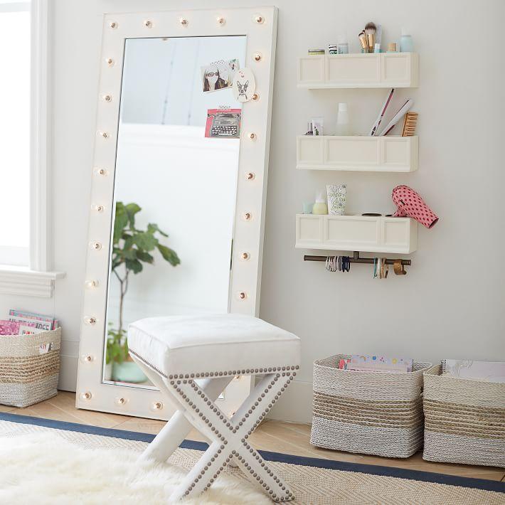 Marquee Light Floor Length Mirror