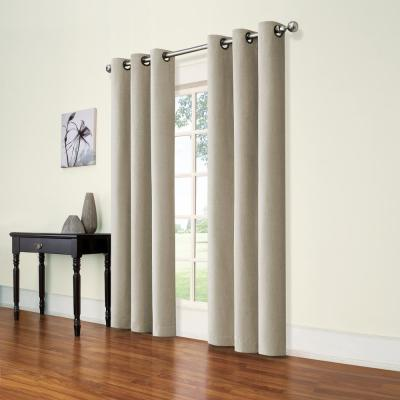 Eclipse Andora Natural Blackout Window Panel - 42 in. W x 95 in. L