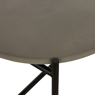 Finian End Table, Natural Brass