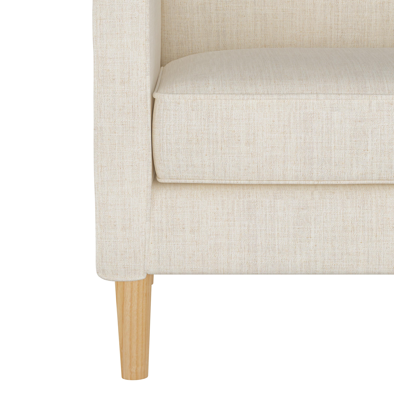 Bucktown Chair in Linen Talc