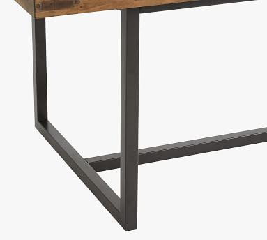 Malcolm Extending Dining Table, Glazed Pine,