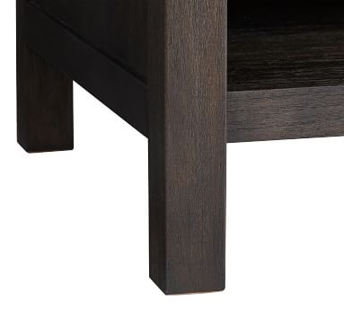 Toulouse Nightstand, Charcoal