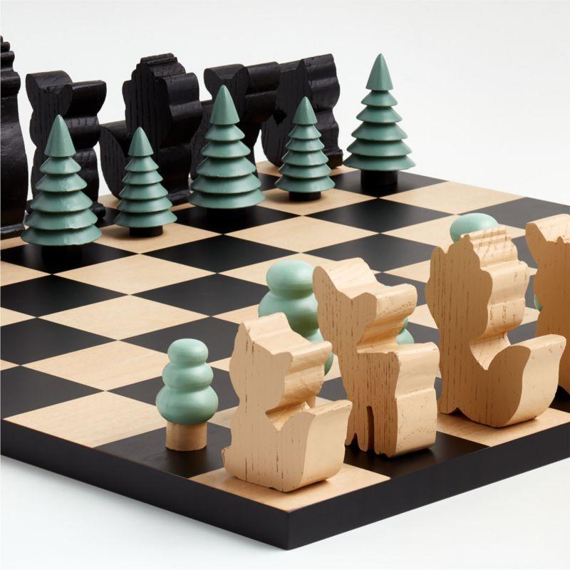 Woodland Wonder Chess Set