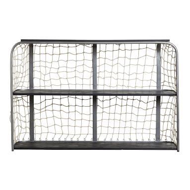 Goalie Shelf, Black, 3 Shelf