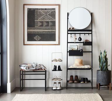 Temple Street Shoe Ladder, Black