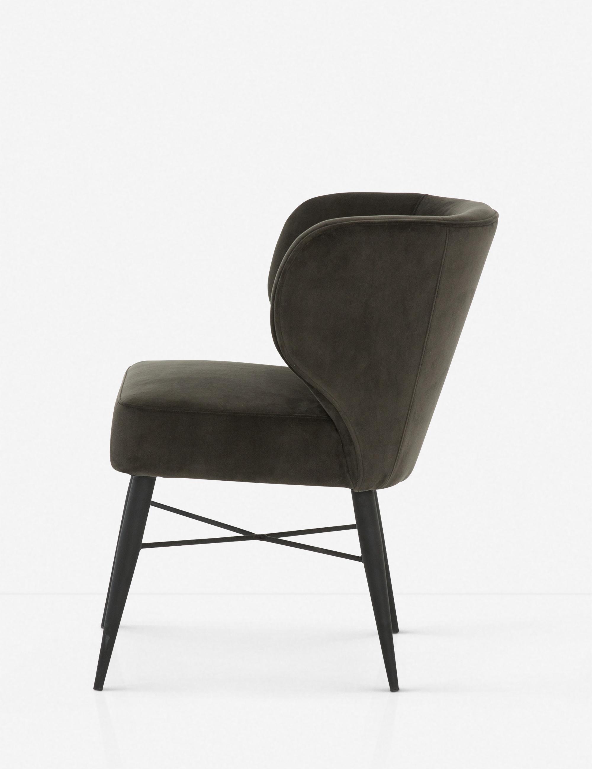Jerika Dining Chair, Bella Smoke