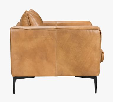 Waldorf Leather Armchair, Brown