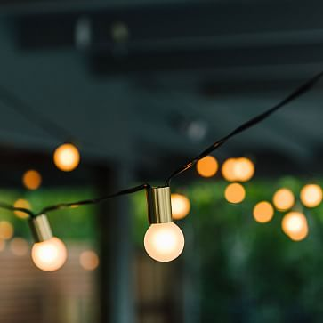 Simple String Lights, Brass