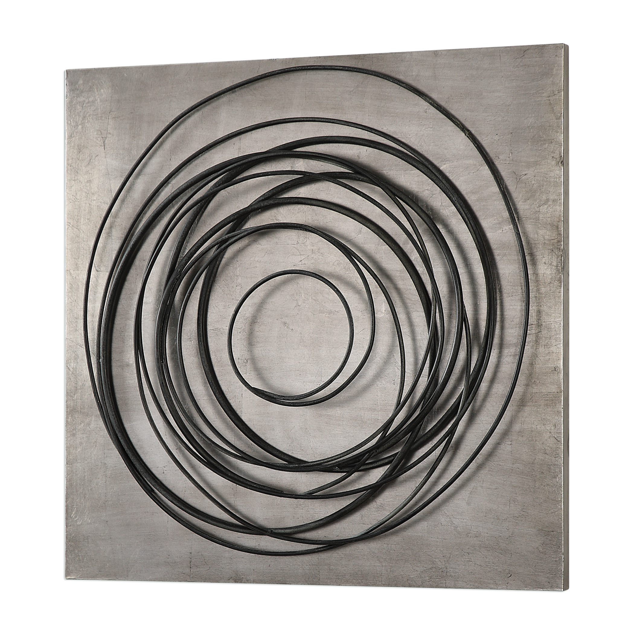 Whirlwind Iron Coils Wall Art