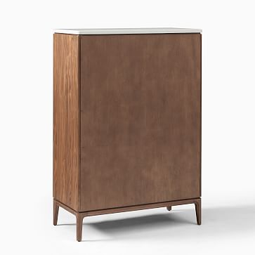 Parker Storage 5 drawer dresser, Cool Walnut