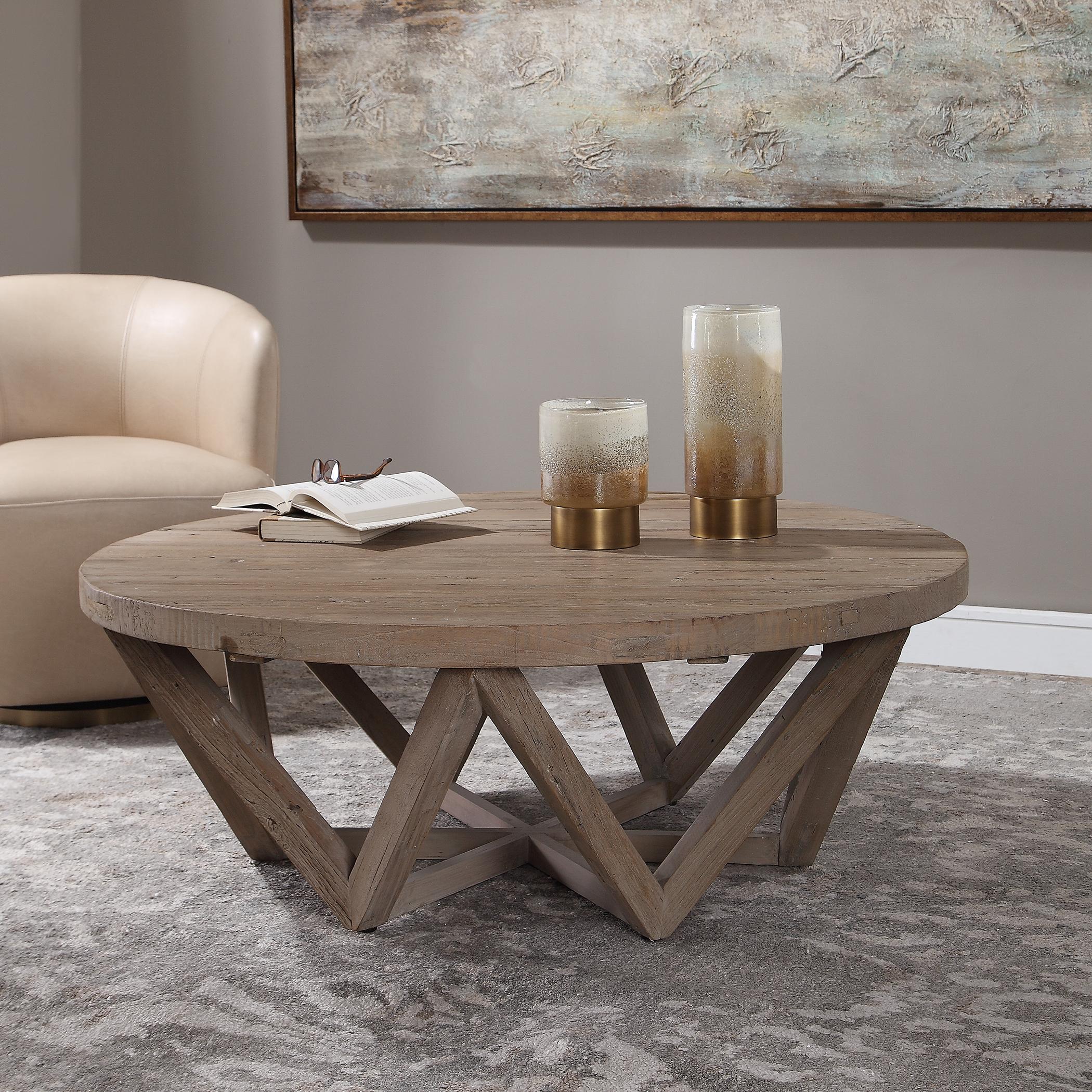 Kendry Reclaimed Wood Coffee Table