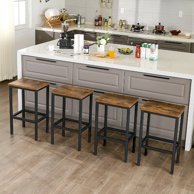 """Wynnewood 25.6"""" Counter Stool (set of 2)"""