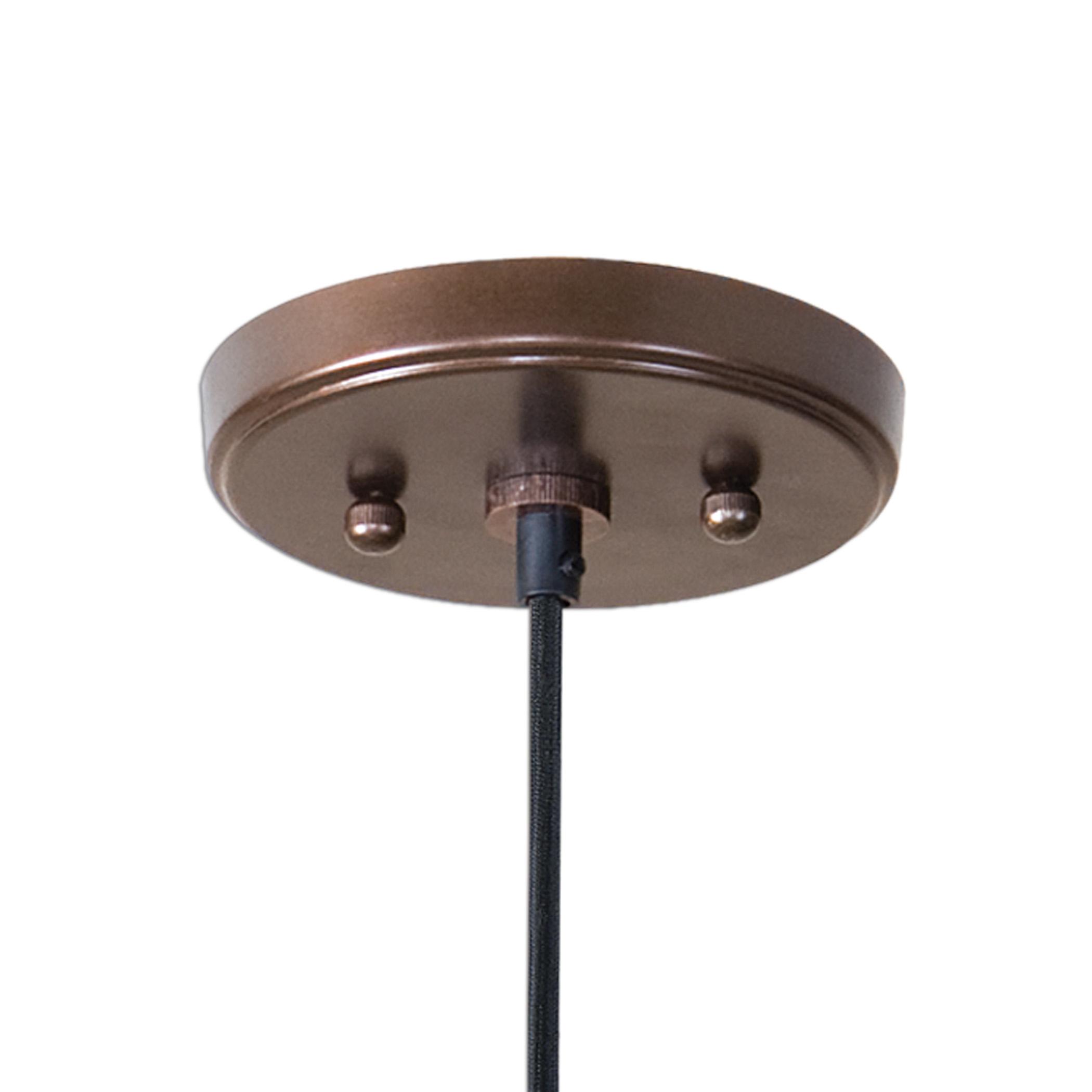 Barnstead 1 Light Pendant, Copper