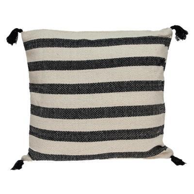 PARKLAND COLLECTION Cruza Transitional Beige Throw Pillow