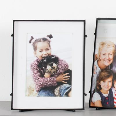 "Madeleine Home Barin 5"" x 7"" Black Powdercoat Handmae Picture Frame Set of 1"