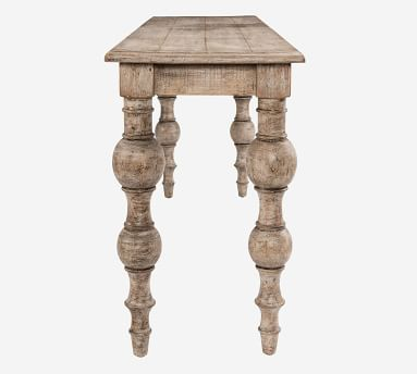 """Bander 72"""" Reclaimed Wood Console Table, Natural"""