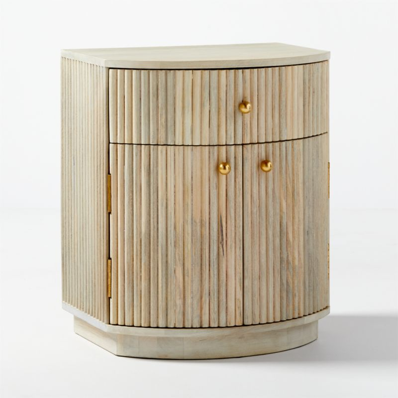 Cameo Curved Nightstand