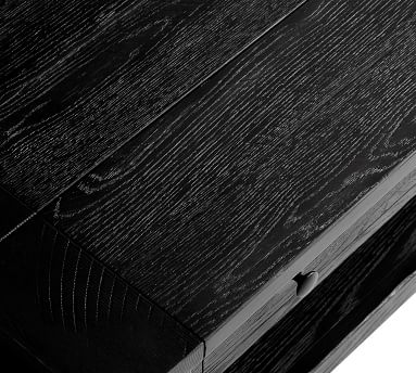 Benchwright Lift-Top Coffee Table, Blackened Oak