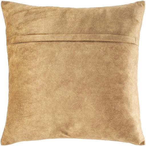 """Stow Pillow, 20"""" x 20"""", Camel"""