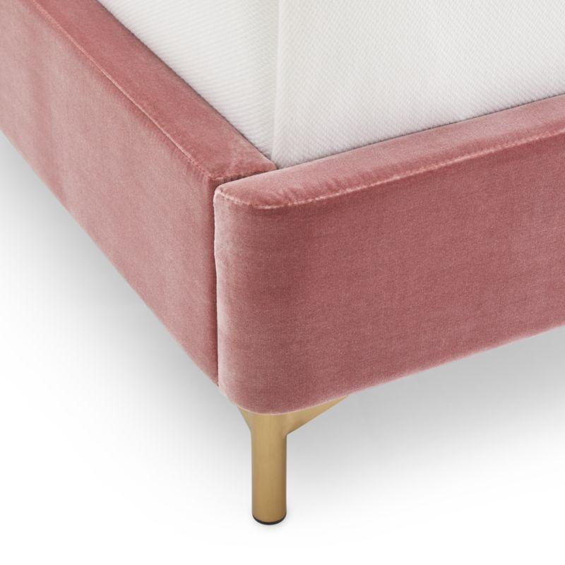 Ava Pink Queen Bed