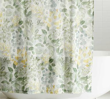 "Botanical Garden Printed Shower Curtains, 72"""