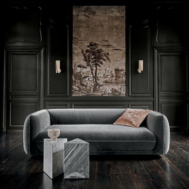 "20"" Strauss Copper Pillow with Down-Alternative Insert"