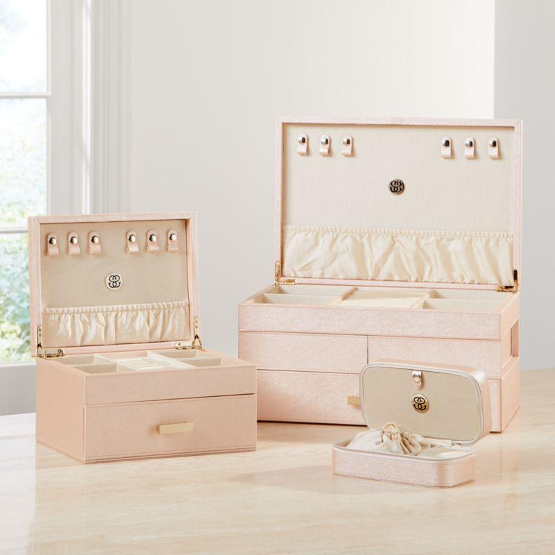 Agency Medium Pale Pink Jewelry Box
